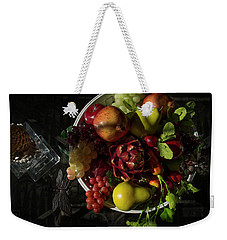 A Plate Of Fruits Weekender Tote Bag