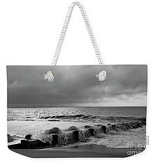 A Platinum Sea Weekender Tote Bag by Skip Willits