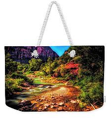 A Pleasant Place ... Weekender Tote Bag