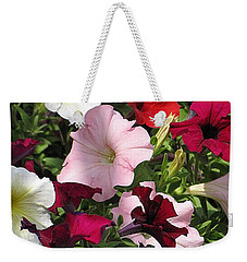 A Plethora Of Petunias Weekender Tote Bag