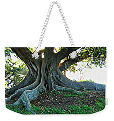 A Poem As Lovely As A Tree Weekender Tote Bag by Leanne Seymour