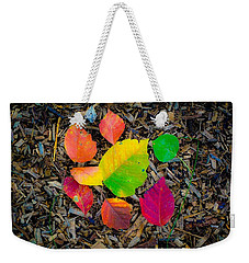 A Pop Of Fall Weekender Tote Bag