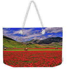 A Poppyy Dream Weekender Tote Bag
