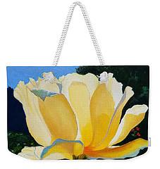 A Portland Rose Weekender Tote Bag