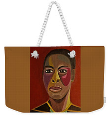 A Portrait Of A Model Weekender Tote Bag