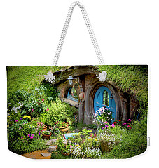 A Pretty Hobbit Hole Weekender Tote Bag