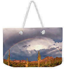 Weekender Tote Bag featuring the photograph A Promise Made by Rick Furmanek