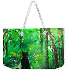 A Purrfect Day Weekender Tote Bag