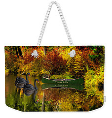 A Quiet Autumn Evening Weekender Tote Bag by Diane Schuster