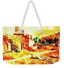 A Quiet Fishing Village Weekender Tote Bag