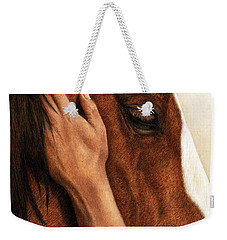 A Quiet Moment Weekender Tote Bag by Pat Erickson