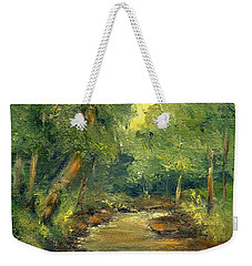 A Quiet Place Weekender Tote Bag by Gail Kirtz