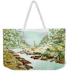 A Quiet Stream In Tasmania Weekender Tote Bag
