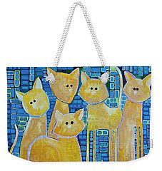 A Quorum Of Cats Weekender Tote Bag