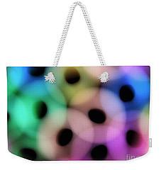 A Rainbow Of Circles Weekender Tote Bag