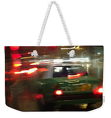 A Rainy Evening Weekender Tote Bag