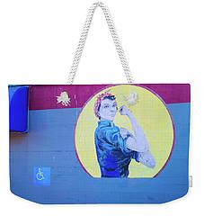 A Real Wonder Woman Weekender Tote Bag