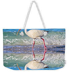 A Reflective Walk Weekender Tote Bag by Betsy Knapp