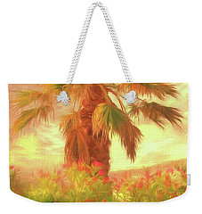 Weekender Tote Bag featuring the photograph A Refreshing Change Of Scenery by Leigh Kemp