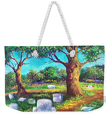 A Remembrance Weekender Tote Bag by Randy Burns