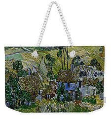 Weekender Tote Bag featuring the painting A Replica Of A Painting  Of Van Gogh by Pemaro