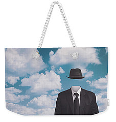 A Riff On Magrittes The Pilgrim Weekender Tote Bag