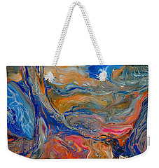A River Runs Through It Weekender Tote Bag