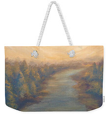 A River's Edge Weekender Tote Bag