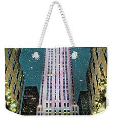 A Rocking Christmas Weekender Tote Bag