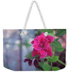 A Rose And A Hard Place Weekender Tote Bag