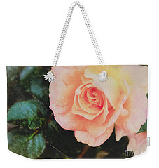 A Rose For Kathleen Weekender Tote Bag by Janice Rae Pariza