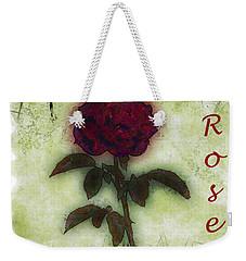 A Rose Weekender Tote Bag