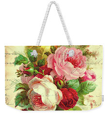 A Rose Speaks Of Love Weekender Tote Bag