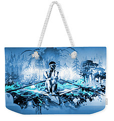 Weekender Tote Bag featuring the painting A Rower's Fantasy by Hanne Lore Koehler