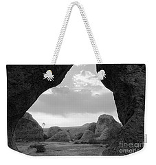 A Rugged View Weekender Tote Bag by Natalie Ortiz