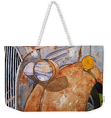 A Rusty Old Chevy Weekender Tote Bag