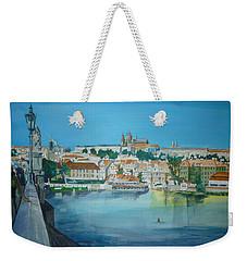 A Scene In Prague 3 Weekender Tote Bag