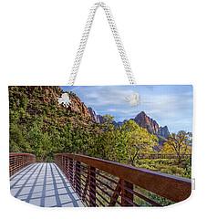 A Scenic Hike Weekender Tote Bag