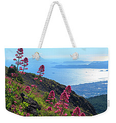 A Scenic View From Mount Vesuvius Weekender Tote Bag