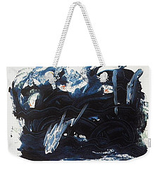 A Sea Turns Rough Weekender Tote Bag