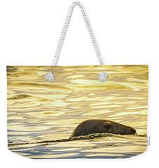 A Seal's Late Afternoon Swim Weekender Tote Bag