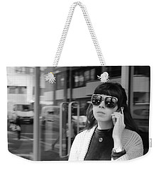 A Shade Of Difference Weekender Tote Bag
