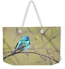 A Shiny Blue Gem Weekender Tote Bag