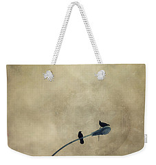 A Short Moment Weekender Tote Bag by Priska Wettstein