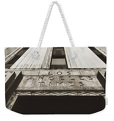 A Sign Of The Times - Vintage Weekender Tote Bag