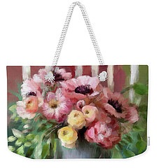 A Simple Bouquet Weekender Tote Bag