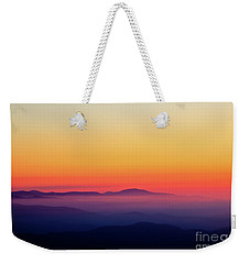 Weekender Tote Bag featuring the photograph A Simple Sunrise by Douglas Stucky
