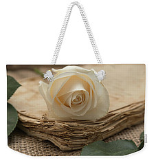 Weekender Tote Bag featuring the photograph A Simple Time by Kim Hojnacki