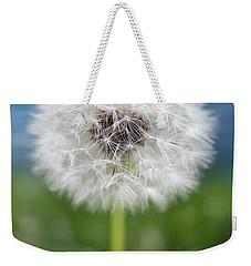 A Single Dandelion Seed Pod Weekender Tote Bag by Robert FERD Frank
