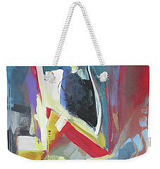 Weekender Tote Bag featuring the painting A Single Strand by John Jr Gholson